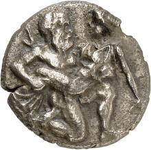 GRÈCE ANTIQUE Thrace, Thasos (463-411 av. J.C). Drachme.
