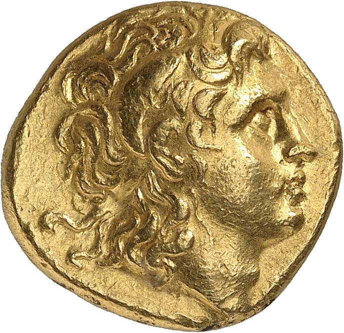 GRÈCE ANTIQUE Thrace, Lysimaque (305-281 av J.C). Statère d'or, Pella.