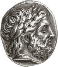 GRÈCE ANTIQUE Royaume de Macédoine, Philippe II (359-336 av. J.C). Tétradrachme, Pella.