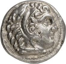 GRÈCE ANTIQUE Royaume de Macédoine, Alexandre le Grand (336-323 av. J.C). Tétradrachme, Amphipolis.