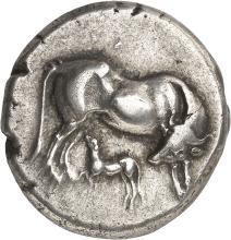 GRÈCE ANTIQUE Illyrie, Dirrachion (340-280 av. J.C). Statère.