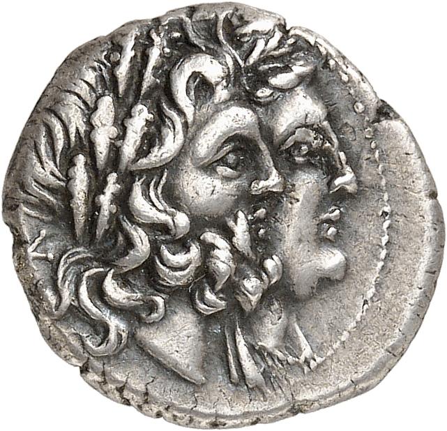 GRÈCE ANTIQUE Epire, ligue épirote (233-169 av. J.C). Tiers de statère.