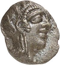 GRÈCE ANTIQUE Attique, Athènes (454-404 av. J.C). Hémiobole.