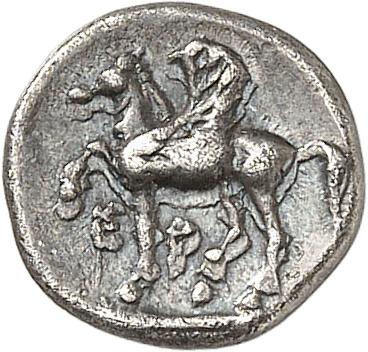GRÈCE ANTIQUE Corinthe (375-300 av. J.C). Diobole.