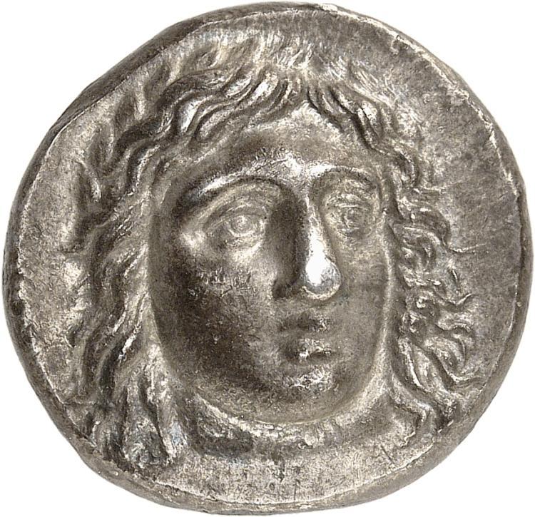 GRÈCE ANTIQUE Carie, Hidrieus (351-344 av. J.C). Tétradrachme.