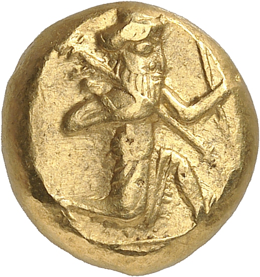 GRÈCE ANTIQUE Rois de Perse, Darius I et ses successeurs (521-485 av. J.C). Darique d'or.