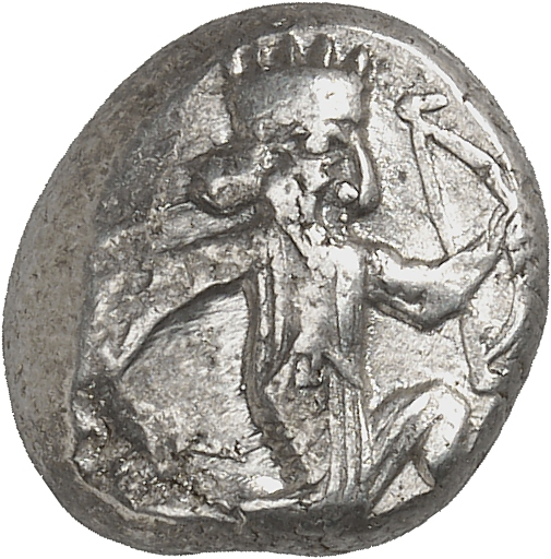 GRÈCE ANTIQUE Rois de Perse, Darius I et ses successeurs (521-485 av. J.C). Sicle.