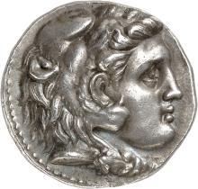 GRÈCE ANTIQUE Royaume Seleucide, Séleucos Ier (312-280 av. J.C). Tétradrachme, Séleucie de Piérie.