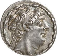 GRÈCE ANTIQUE Royaume Seleucide, Philippe Philadelphe (92-83 av. J.C). Tétradrachme.