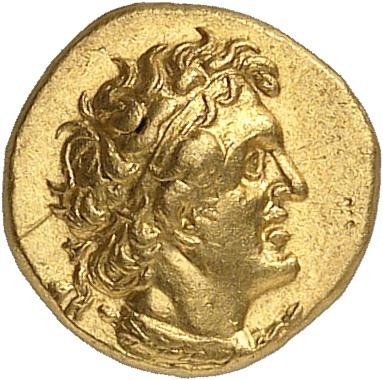 GRÈCE ANTIQUE Royaume d'Egypte, Ptolémée I (305-282 av. J.C). Hémidrachme 294-285 av. J.C, Alexandrie.