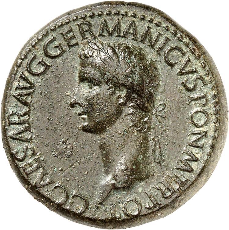 EMPIRE ROMAIN Caligula (37-41). Sesterce, 37, Rome.
