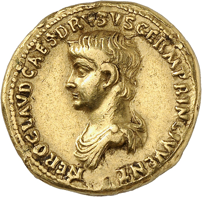 EMPIRE ROMAIN Néron (54-68). Aureus 54, Rome.
