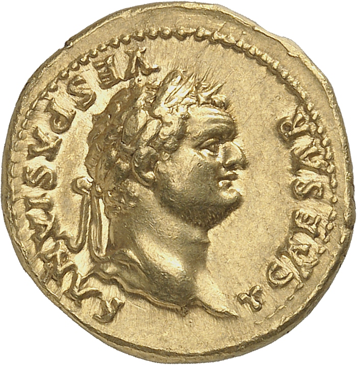 EMPIRE ROMAIN Titus (69-79). Aureus 77-78, Rome.