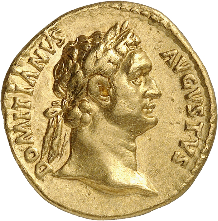EMPIRE ROMAIN Domitien (81-96). Aureus 90-91, Rome.