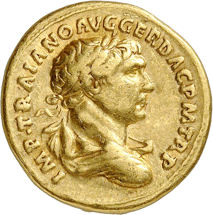 EMPIRE ROMAIN Trajan (98-117). Aureus 103-111, Rome.