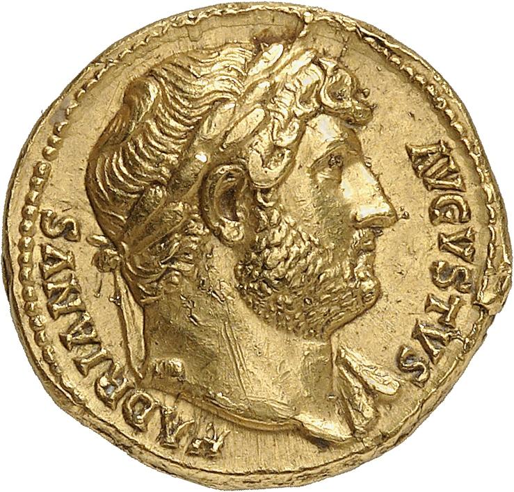EMPIRE ROMAIN Hadrien (117-138). Aureus 117-138, Rome.