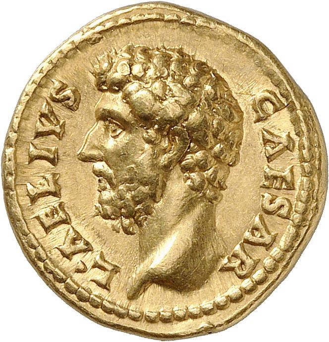 EMPIRE ROMAIN Aelius (136-138). Aureus 137, Rome.