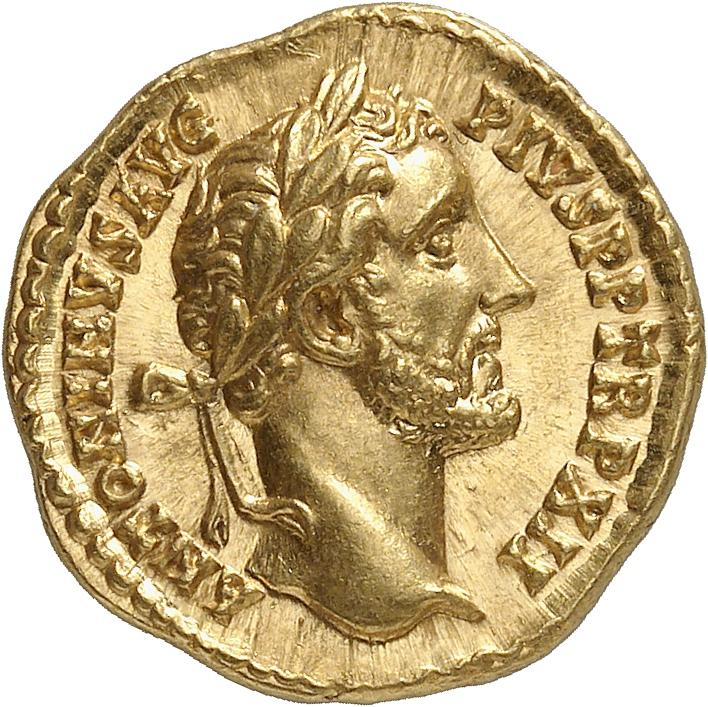 EMPIRE ROMAIN Antonin le Pieux (138-161). Aureus 148-149, Rome.