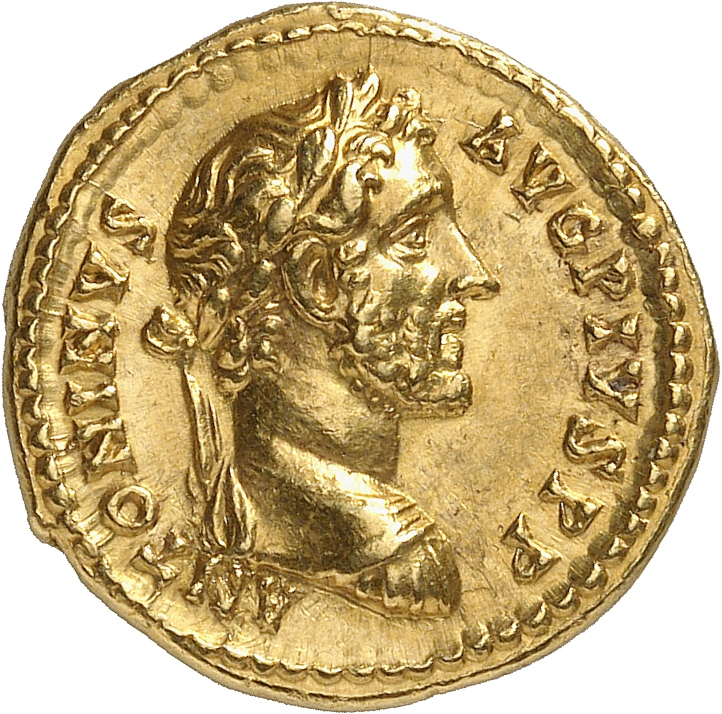 EMPIRE ROMAIN Antonin le Pieux (138-161). Aureus 145-161, Rome.