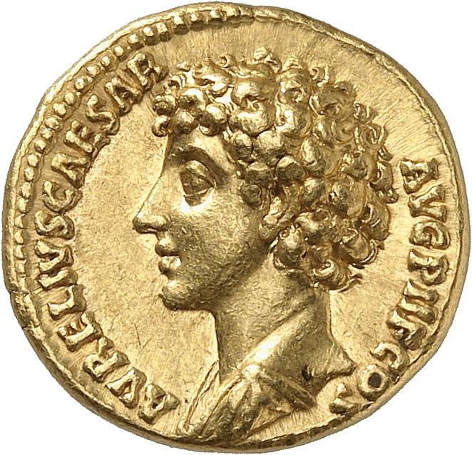 EMPIRE ROMAIN Marc Aurèle (161-180). Aureus 140-144, Rome.