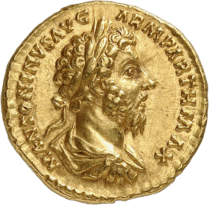 EMPIRE ROMAIN Marc Aurèle (161-180). Aureus 166, Rome.