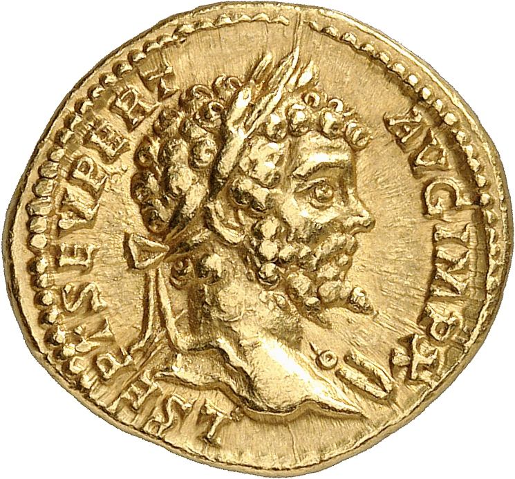 EMPIRE ROMAIN Septime Sévère (193-211). Aureus 197, Rome.