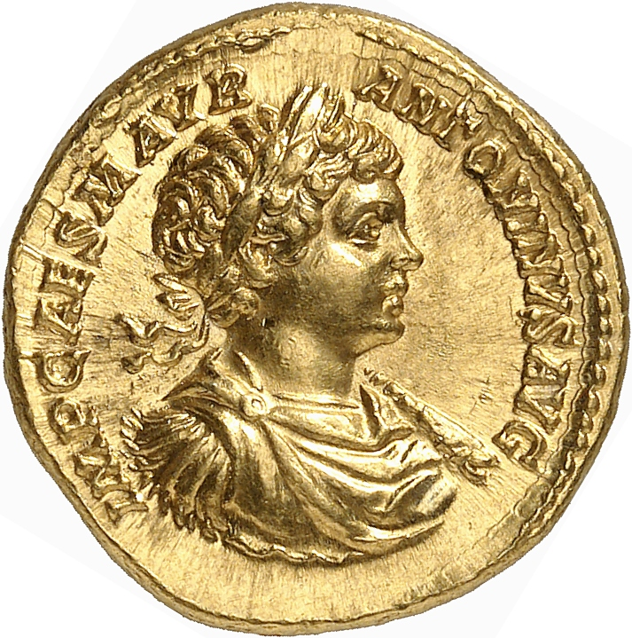 EMPIRE ROMAIN Caracalla (198-217). Aureus 199, Rome.