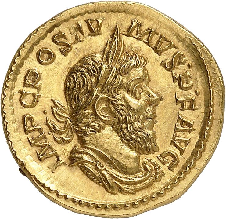 EMPIRE ROMAIN Postume (260-268). Aureus 262, Trèves.
