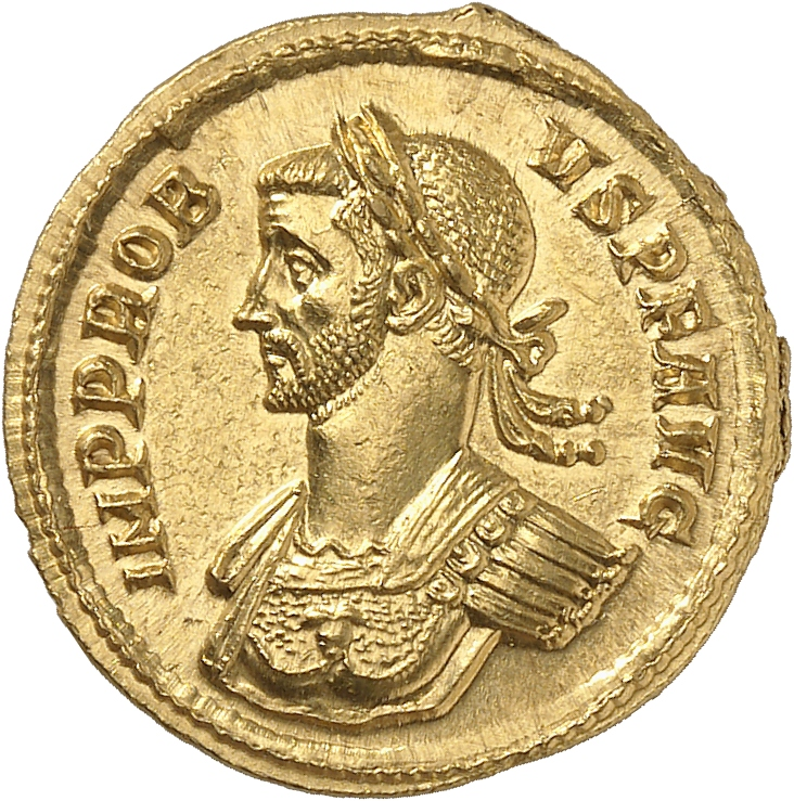 EMPIRE ROMAIN Probus (276-282). Aureus 281-282, Rome, 6ème émission.
