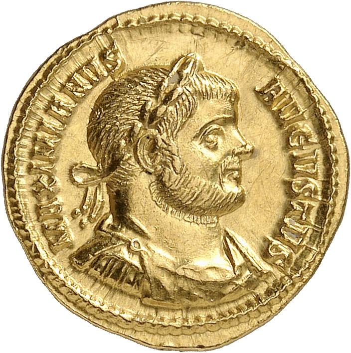 EMPIRE ROMAIN Maximien Hercule (285-310). Aureus 293-294, Rome.
