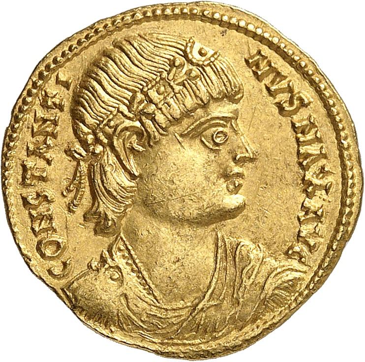 EMPIRE ROMAIN Constantin Ier (307-337). Solidus, Nicomedia.