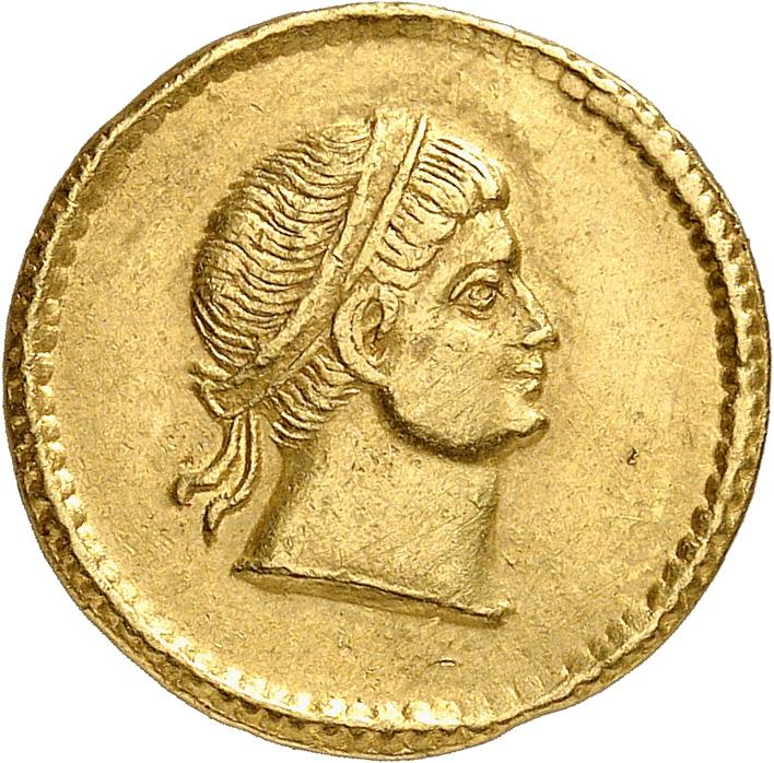 EMPIRE ROMAIN Constance II César (324-337). Solidus 326, Ticinum.