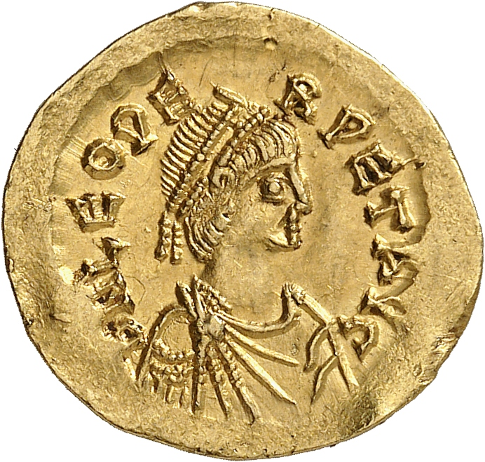 EMPIRE ROMAIN Léon Ier (457-474). Semissis, Constantinople.
