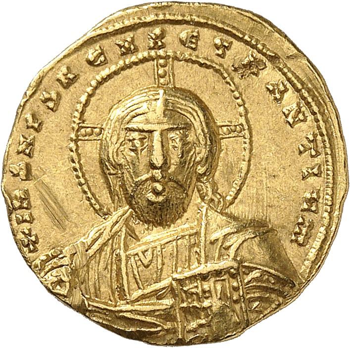 EMPIRE BYZANTIN Constantin VII et Romain (945-959). Solidus, Constantinople.