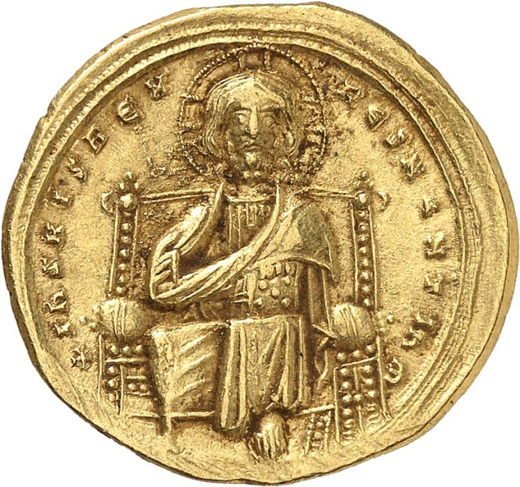 EMPIRE BYZANTIN Romain III Argyre (1028-1034). Histamenon, Constantinople.
