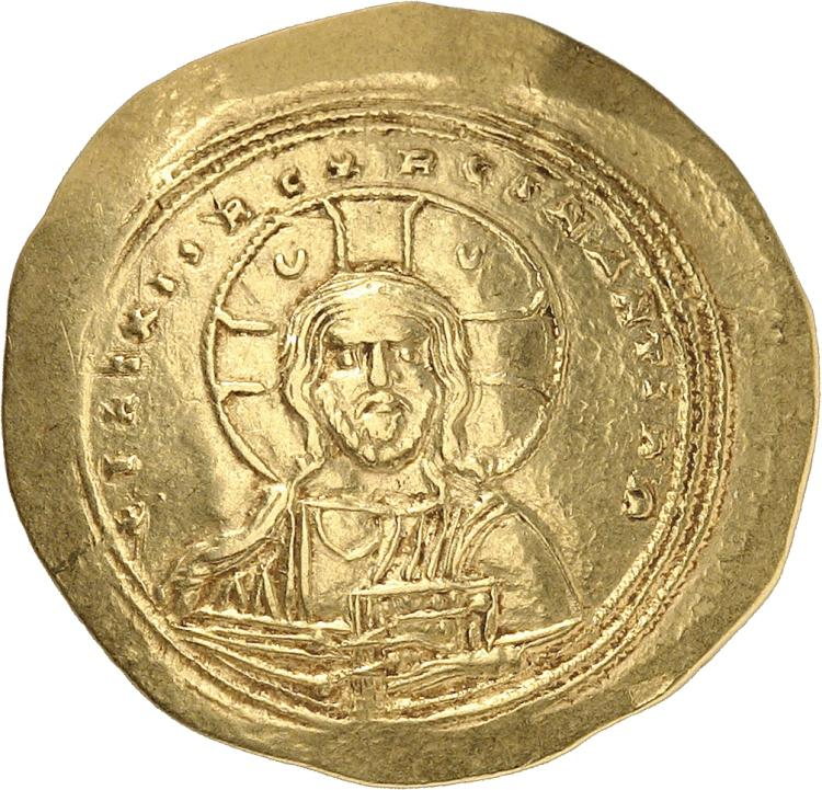 EMPIRE BYZANTIN Constantin IX Monomaque (1042-1055). Histamenon, Constantinople.