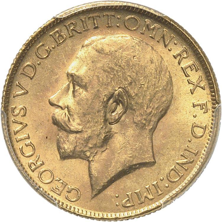 AFRIQUE DU SUD Georges V (1910-1936). Souverain 1928, Pretoria.
