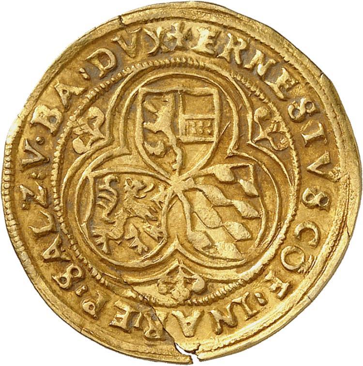 ALLEMAGNE Salzbourg, Ernest de Bavière (1549-1560). Florin d'or.