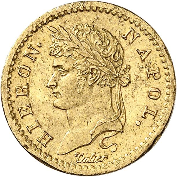ALLEMAGNE Westphalie, Jêrome Napoléon (1807-1813). 10 franken 1813, Cassel.
