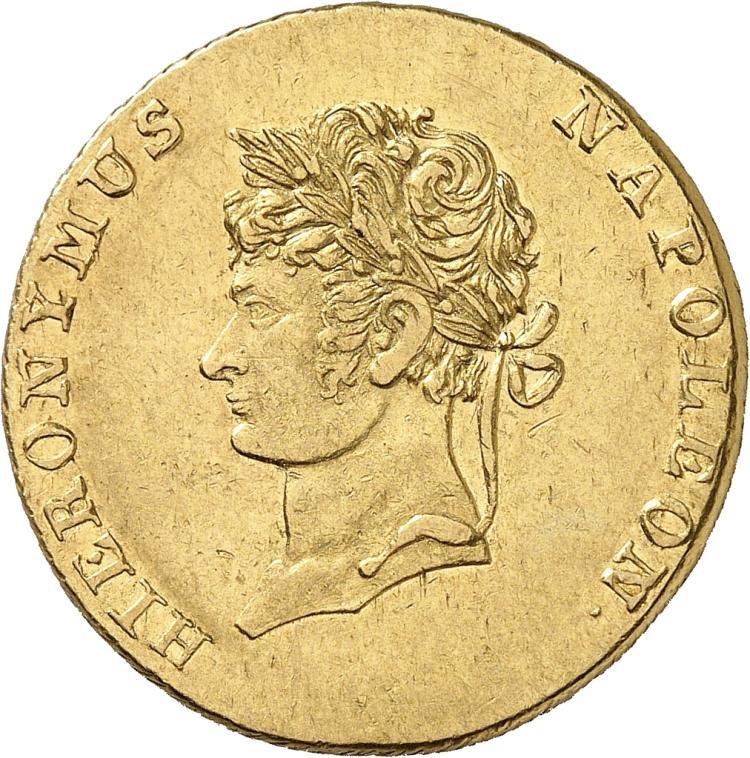 ALLEMAGNE Westphalie, Jérôme Napoléon (1807-1813). 10 thalers 1812, Brunswick.