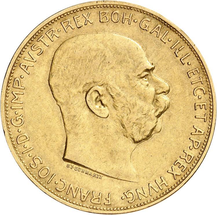 AUTRICHE François-Joseph Ier (1848-1916). 100 Couronnes 1913.