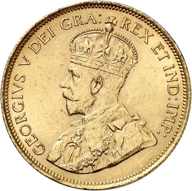 CANADA Georges V (1910-1936). 10 dollars 1912.