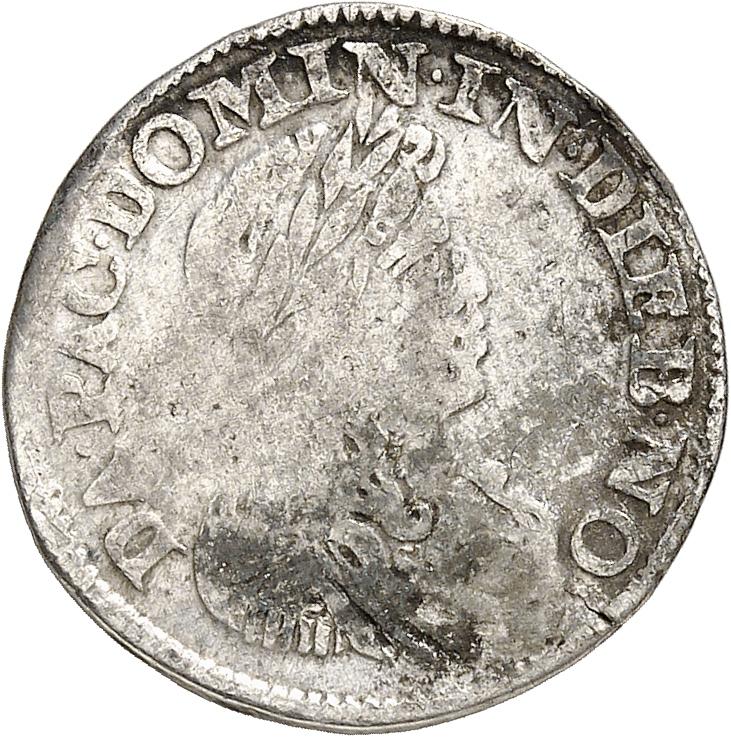 PAYS-BAS Zwolle (1660-1697). Luigino 1662.