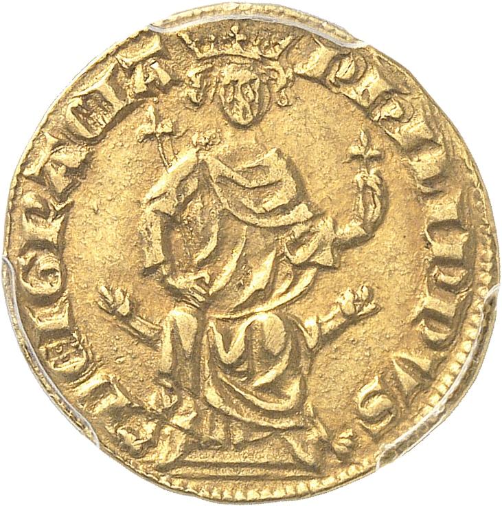 FRANCE Philippe IV (1285-1314). Petit royal d'or émission d'août 1290.