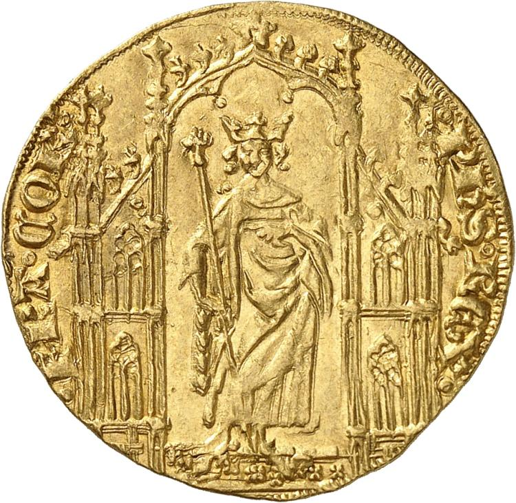 FRANCE Philippe VI (1328-1350). Royal d'or 2 mai 1328.