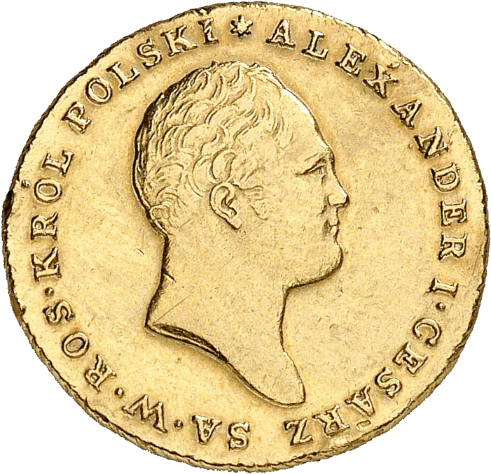 RUSSIE Alexandre Ier (1801-1825). Occupation de la Pologne (1813-1825). 25 zloty 1817, Varsovie.
