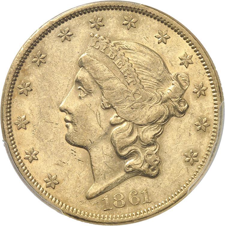 USA 20 dollars Liberté 1861, Philadelphie.