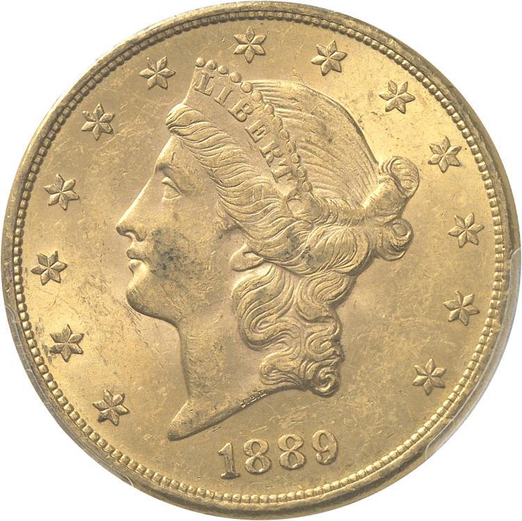 USA 20 dollars Liberté 1889, Philadelphie.