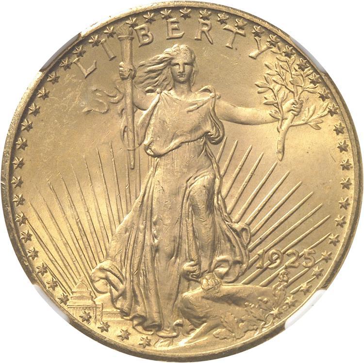 USA 20 dollars « Saint-Gaudens » 1925, Philadelphie.
