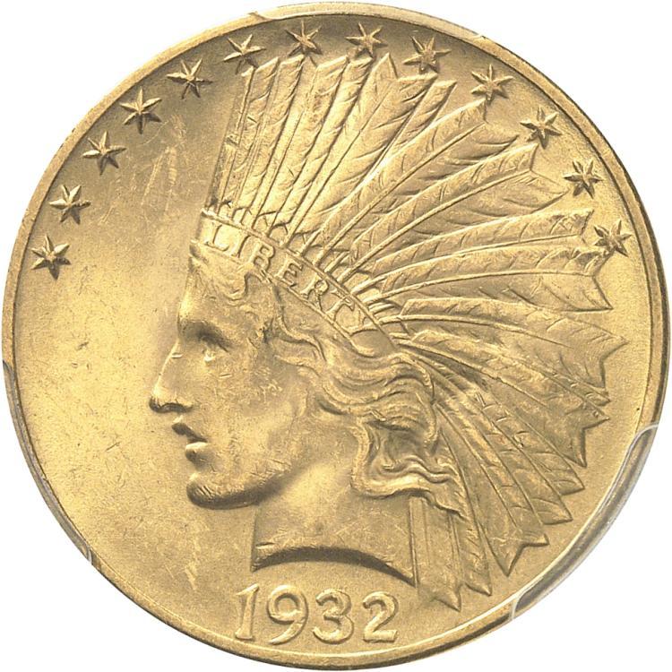 USA 10 dollars Indien 1932, Philadelphie.